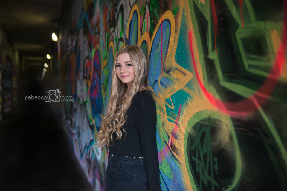 atlanta senior photo graffiti
