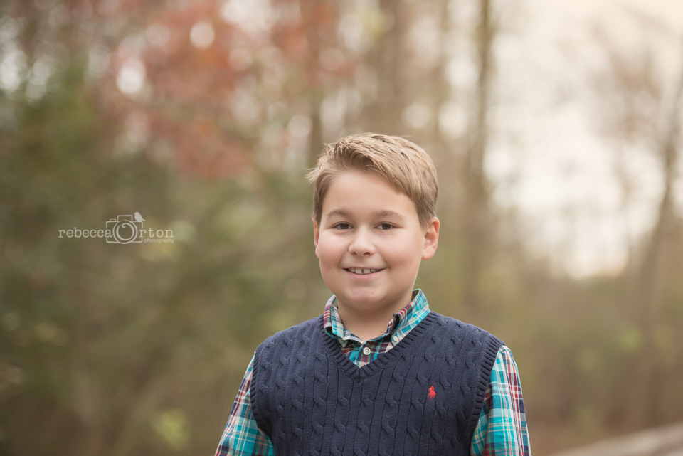 fall boy portrait johns creek