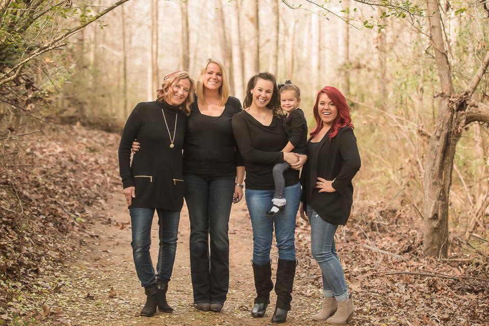 girls of the extended family
