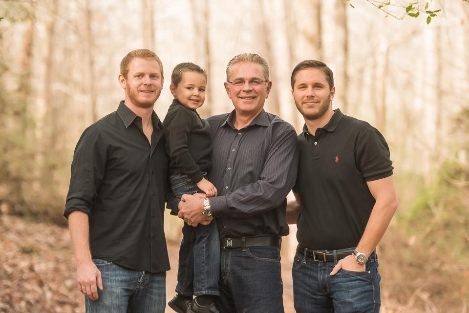 men of the extended family