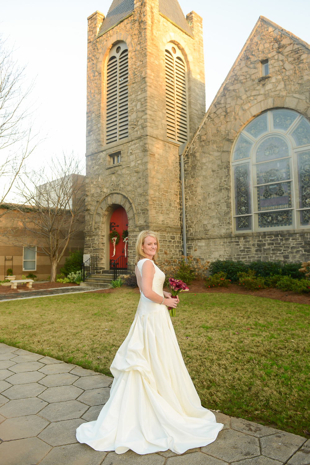 beautiful bride inman park