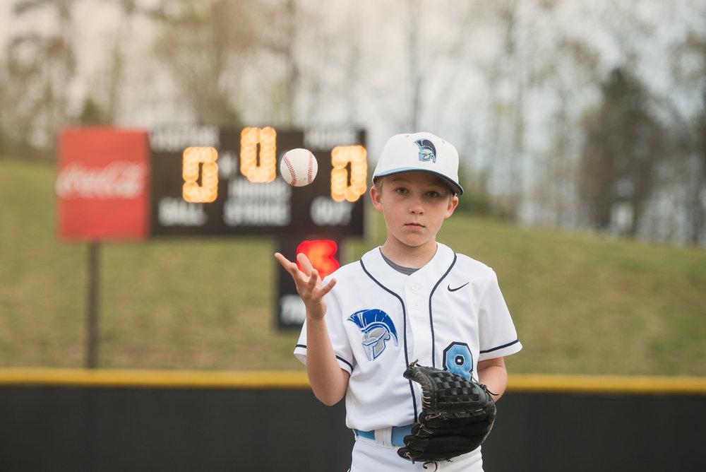 baseball headshot scoreboard