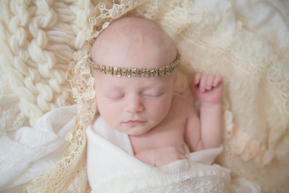 sparkly newborn baby