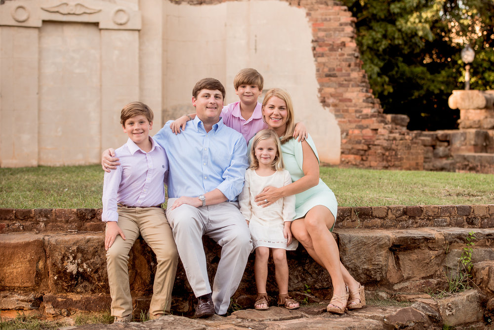 tuscaloosa family fall photo