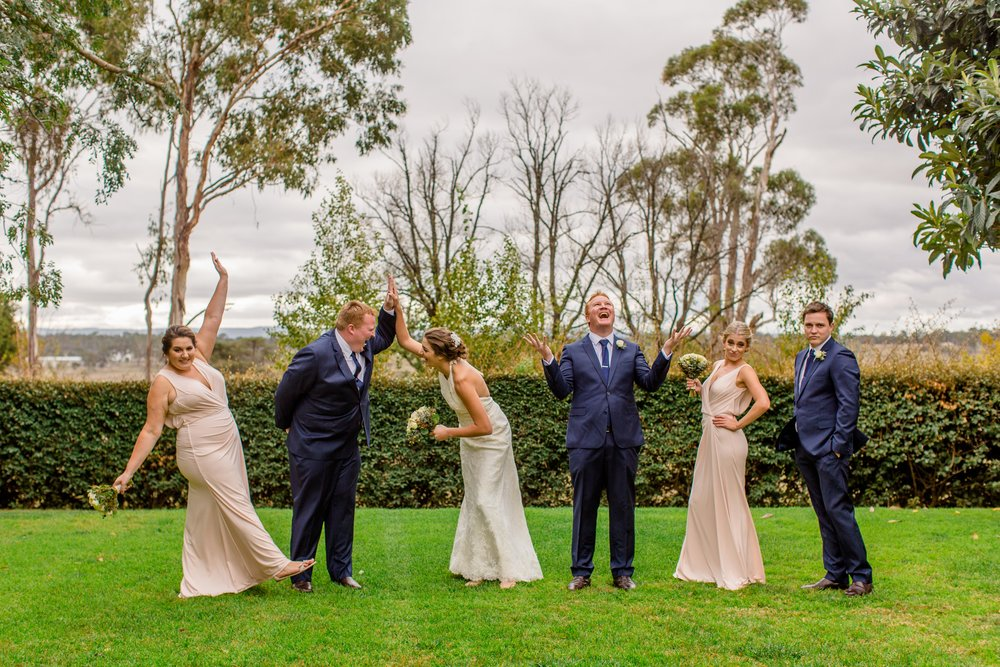 Petersons Winery Armidale Wedding Photography