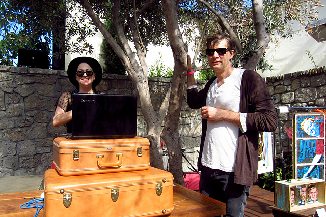 Naomi Schimek and Dave Kupchinsky