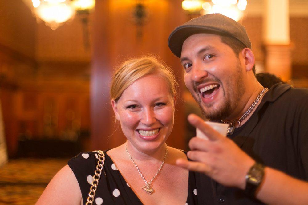 Danielle Crouch and Allan Katz at ABTG II | Photo by Tatsu Oiye