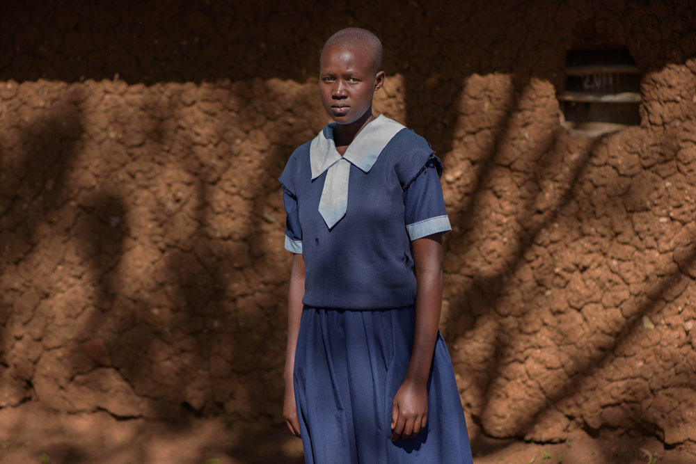 L.N., 18, studies in Class 7 at the Ngukumahando Primary School, Migori County. L. used to have sex with a boy, from another school who promised to marry her. After finding out about her pregnancy, her mother came with her to the school and informed the teacher. . L. decided to stay in school but was subjected to gossip and shaming by her schoolmates. She gave birth to a son and stayed home for a few months and then returned to school. Her mother would bring the baby to the school to be breastfed after she joined school.