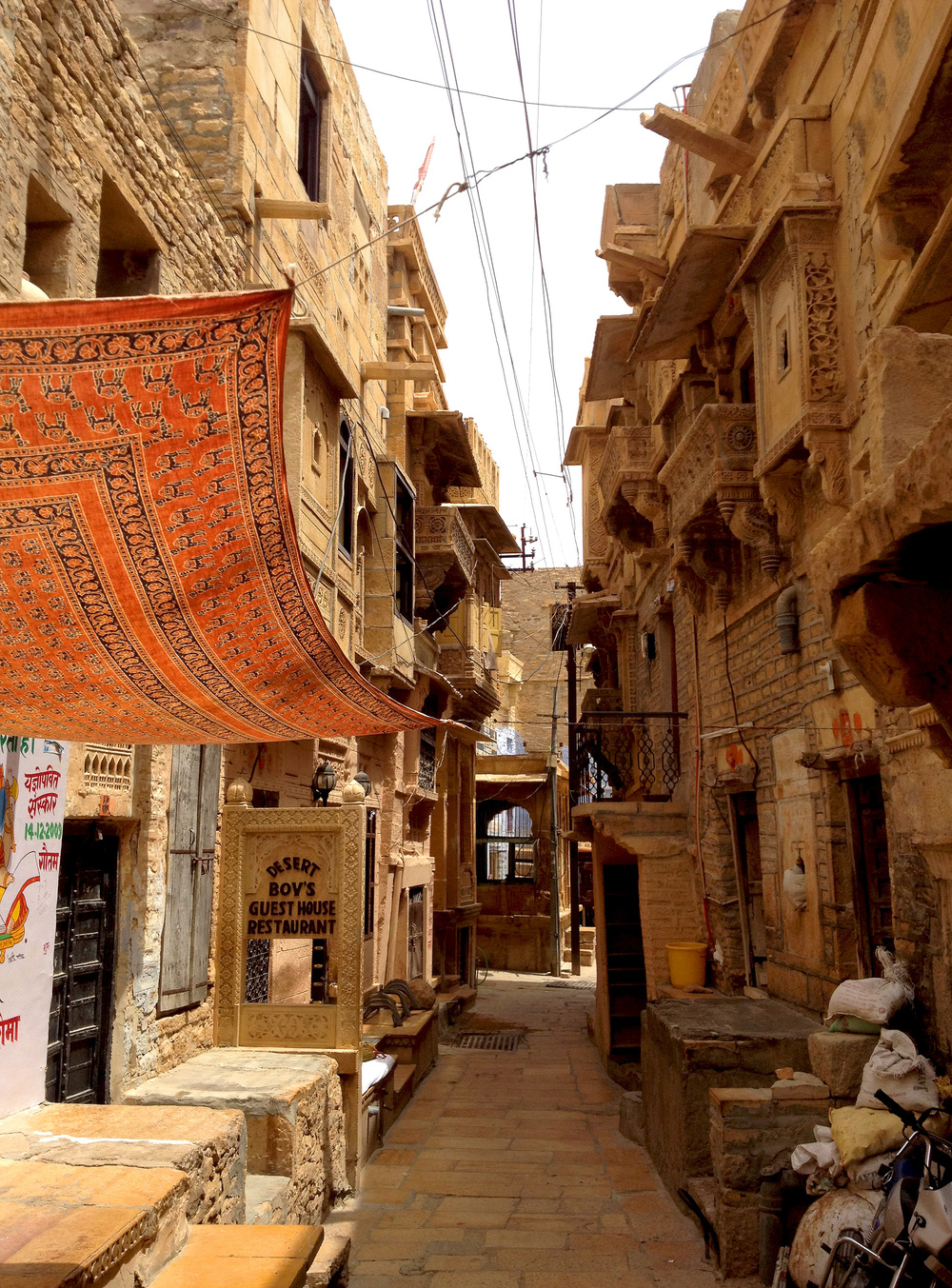 Alley in Jaisalmer, India