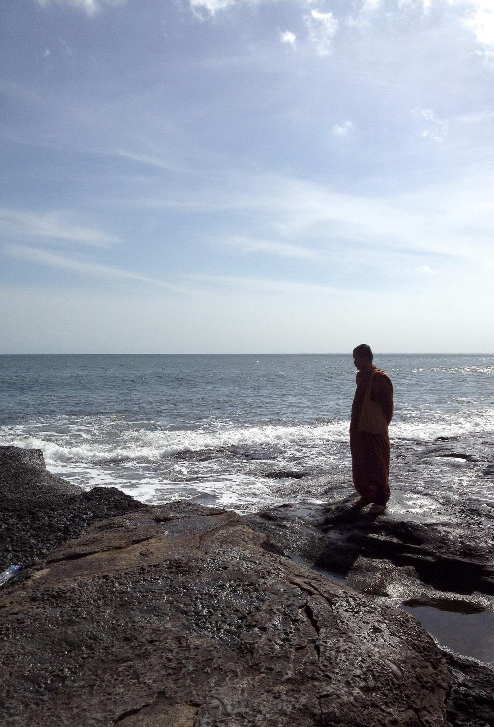 Buddhist in Bali, Indonesia
