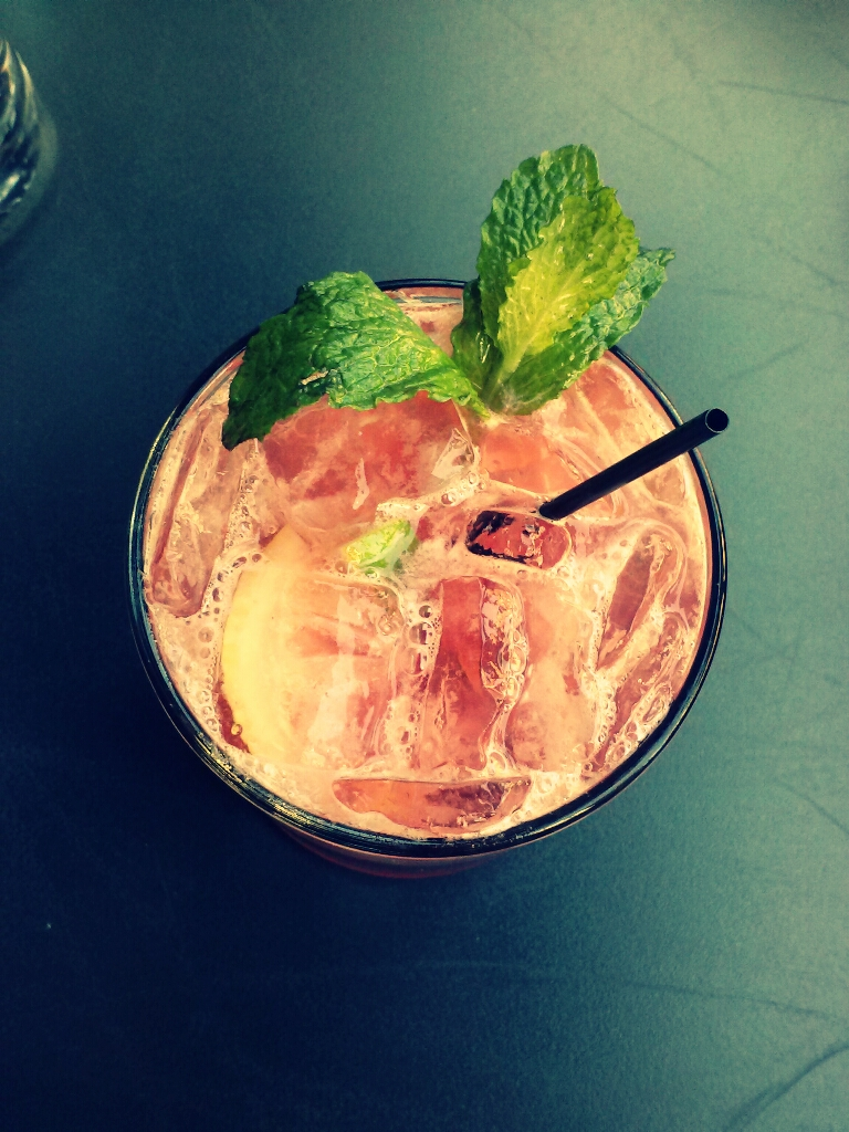 Favorite drink by far from this place: Pom Seduction.