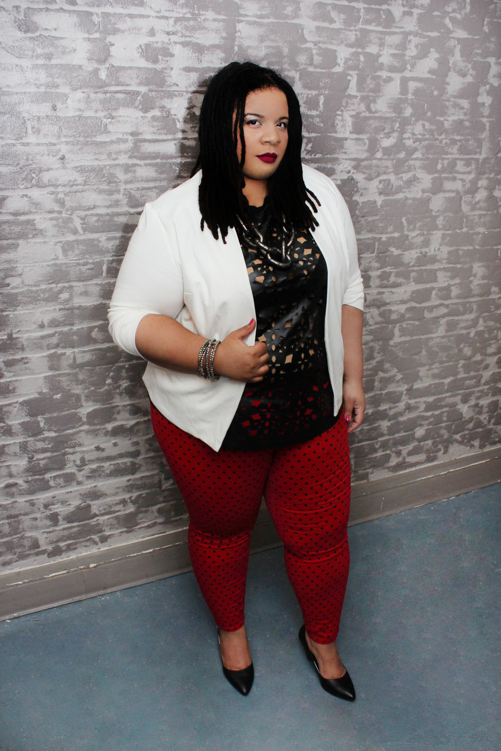 Plus Size Valentines Day Outfit