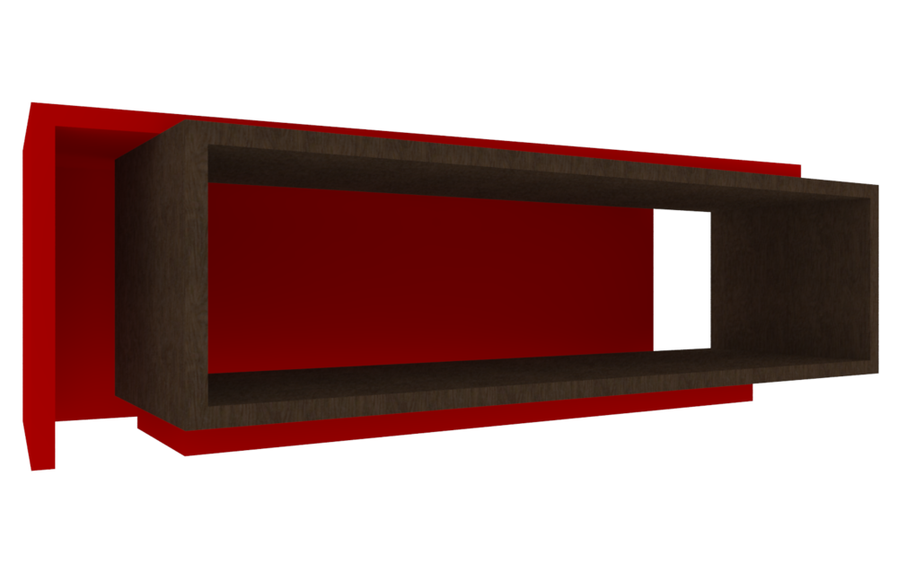 Red Tv Table