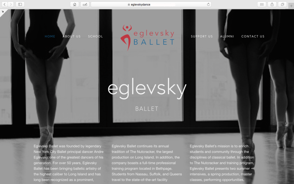 EglevskyDance website