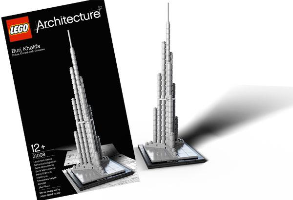 Burj Khalifa - Lego Architecture