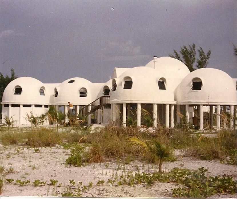 Hurricane Proof Dome Home: The Cape Romano Dome Home