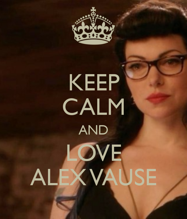 Alex Vause - Queen of Swords -  I usually call this the