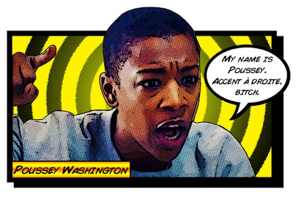 Poussey - Knight of Wands  - If Pornstache is the K. of Wands inverted, our dear Poussey is straight up.  She is charming, confident and daring.  She is a fierce friend, and is passionate even when that passion can get her into trouble.  She is strong and smart and makes things happen