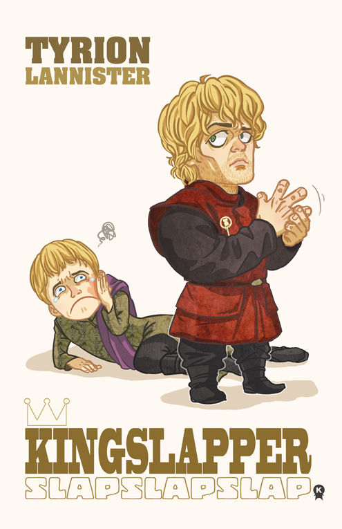 "Tyrion Lannister - The Hermit- SPEAKING of slapping the hell out of Joffrey, here is my favorite character.  Tyrion Lannister probably has the best character of anyone in GoT.  He stands up for the weak, he doesn't abuse what power he has (unless it's for sex and alcohol), and he slaps Joffrey right in the face.  Tyrion is well educated, funny and charismatic.  What he doesn't have is respect.  Because of his stature and the death of his mother upon his birth, Tyrion becomes the target for his sister and father.  I chose the Hermit for Tyrion because he trusts himself above all others.  For his entire life, anyone that he's trusted has betrayed him.  His lovers, his family, his 'friends'.  Tyrion trusts himself and his books.  His light shines only for him. ""My mind is my weapon. My brother has his sword, King Robert has his warhammer and I have my mind... and a mind needs books as a sword needs a whetstone if it is to keep its edge. That's why I read so much, Jon Snow"". - Tyrion"
