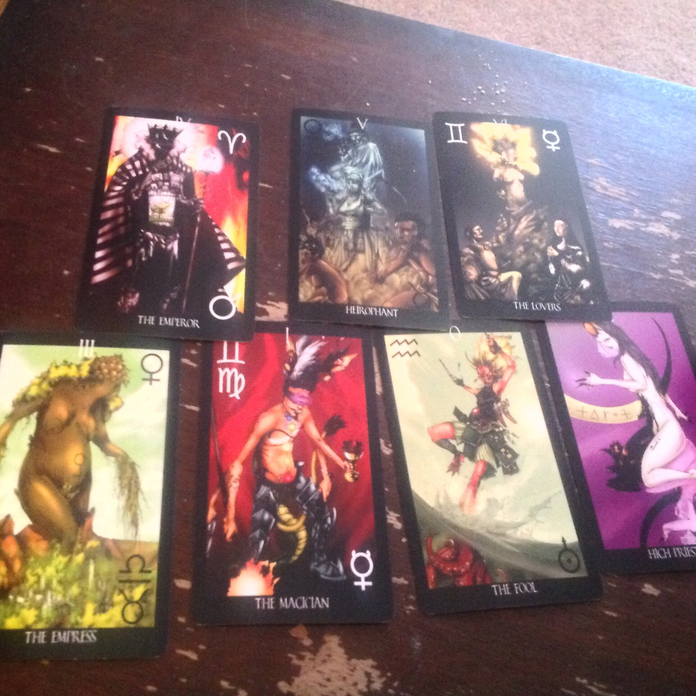 I am not a photographer, but OMG I love this deck.