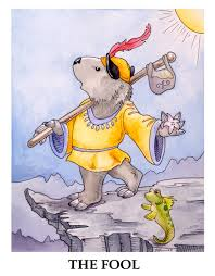 Wombat Tarot. (Regrettably, not a deck)