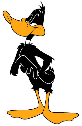The Emperor - Daffy Duck - Daffy is the boss (even when he isn't) He sticks to his principles regardless of opposition or common sense.