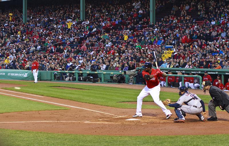 Big Papi at bat April 26, 2013 against the Houston Astros