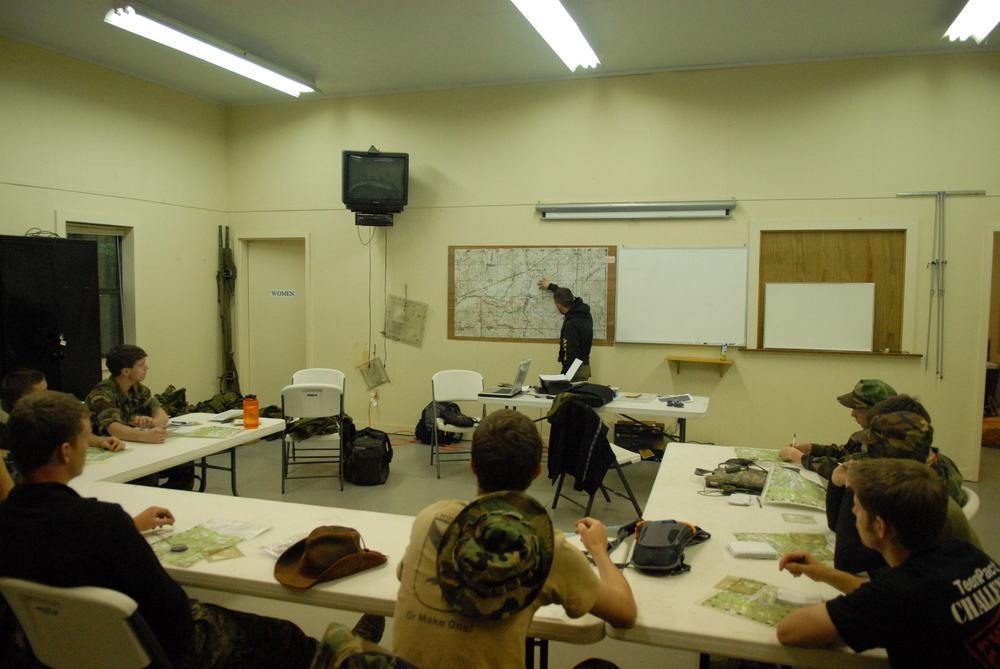 Training in Land Navigation