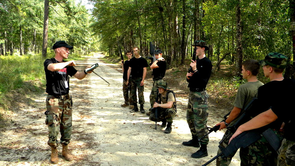 Immersive training in team coherence- Tactical squad movement