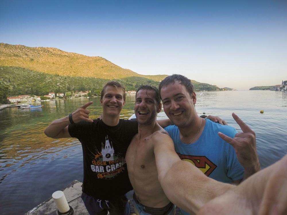 Keith, Christo and I