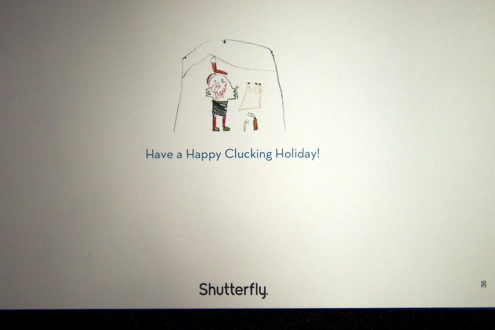 Merry Christmas Card Creation!