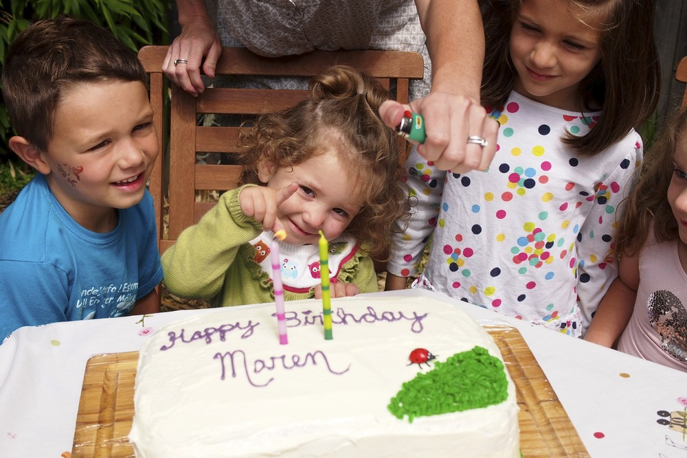 Our Maren turns TWO!