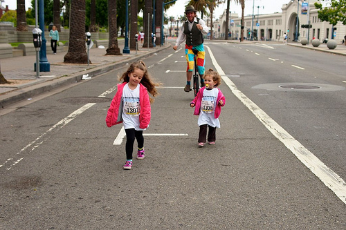 SF Munchkin Fun Run turns us into Tourists!!