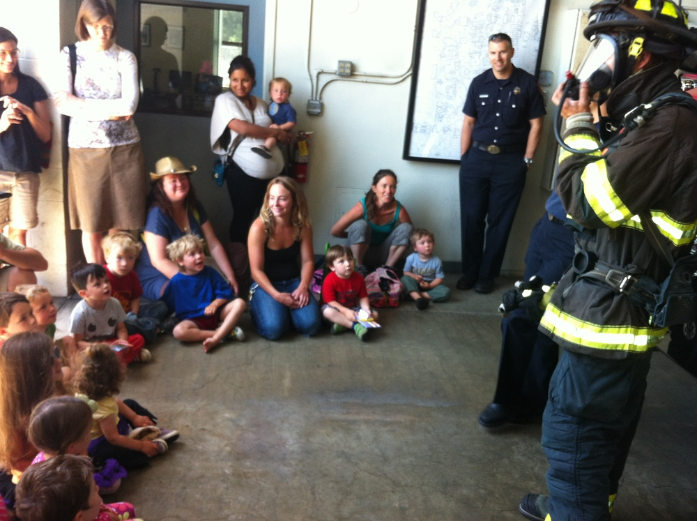 Visiting Fire Station #2 in Berkeley, CA