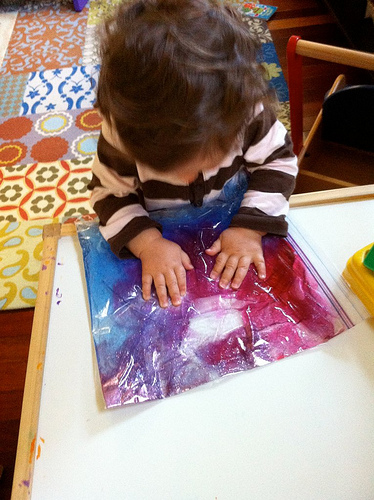 We've been knee deep in kids activities- inspired mostly by Pinterest