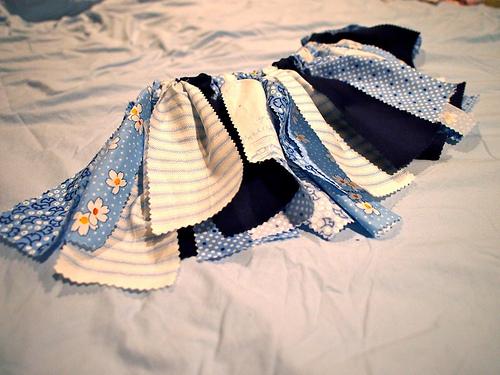 Maisy's scrappy tutu skirt