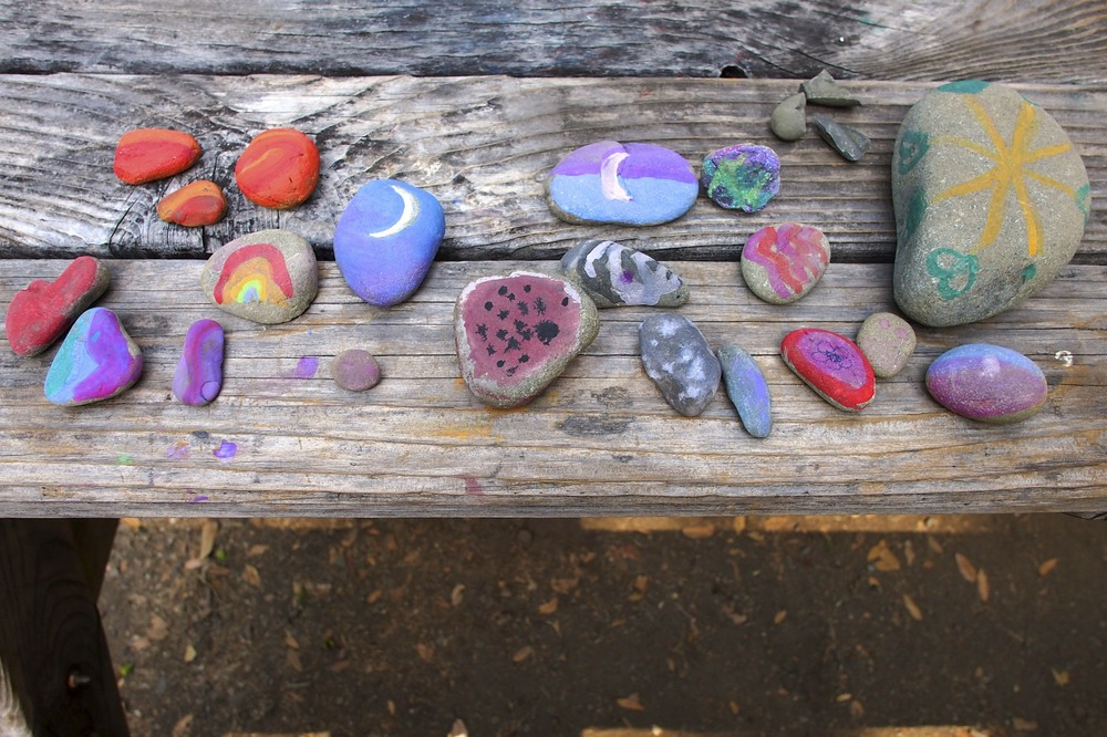 Our art rock collection.