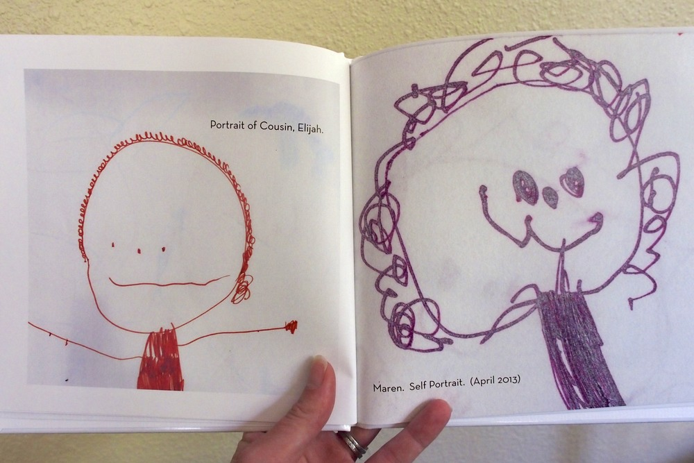 Preserve Art: Make a child narrated art book from their creations.