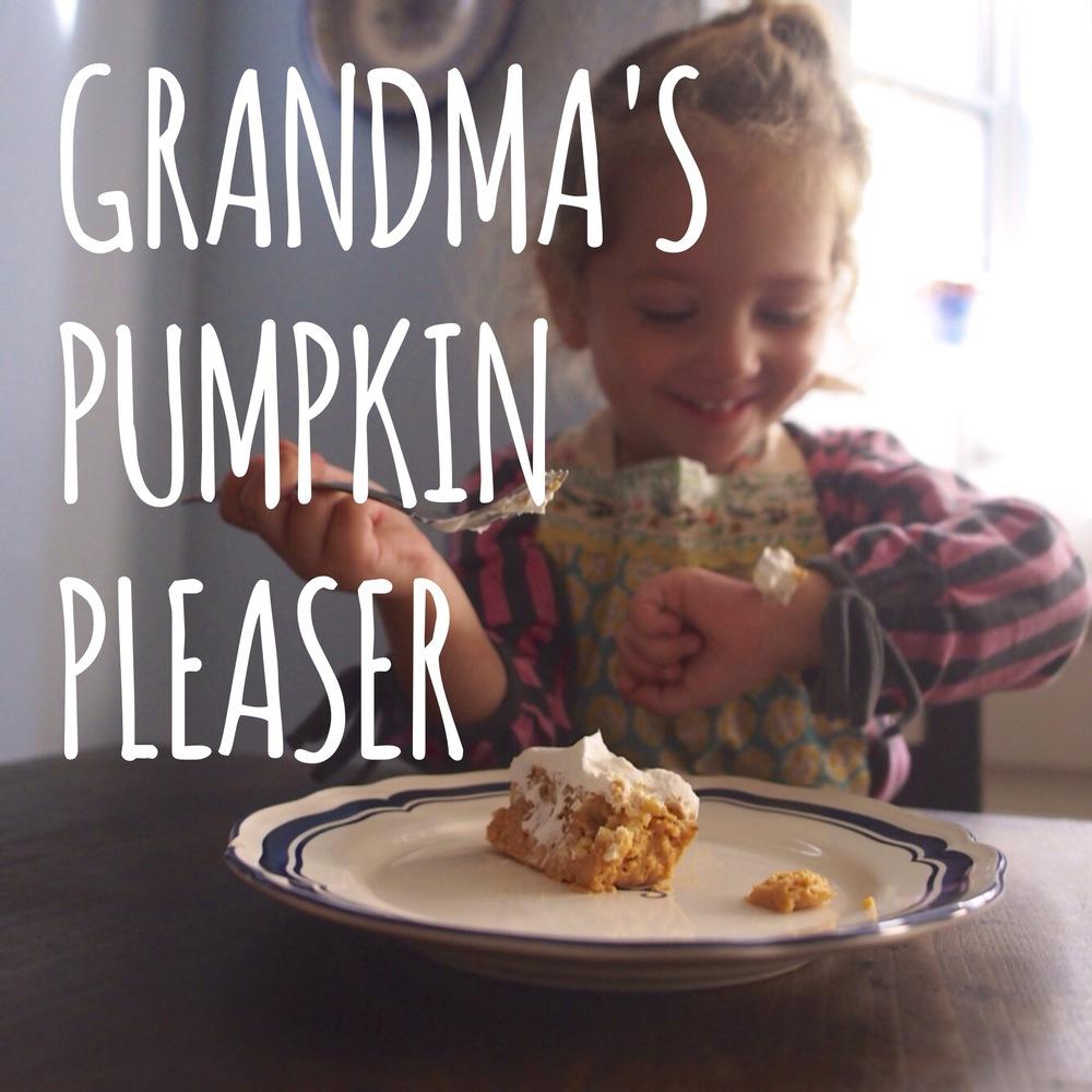 Baking with Kids:  Grandma's Pumpkin Pleaser Recipe