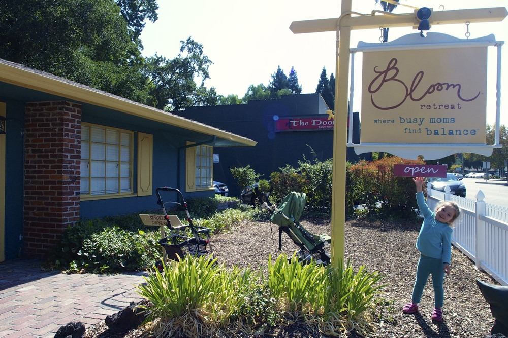 Bloom Retreat, Walnut Creek, CA.  Care for yourself while they care for your kids.
