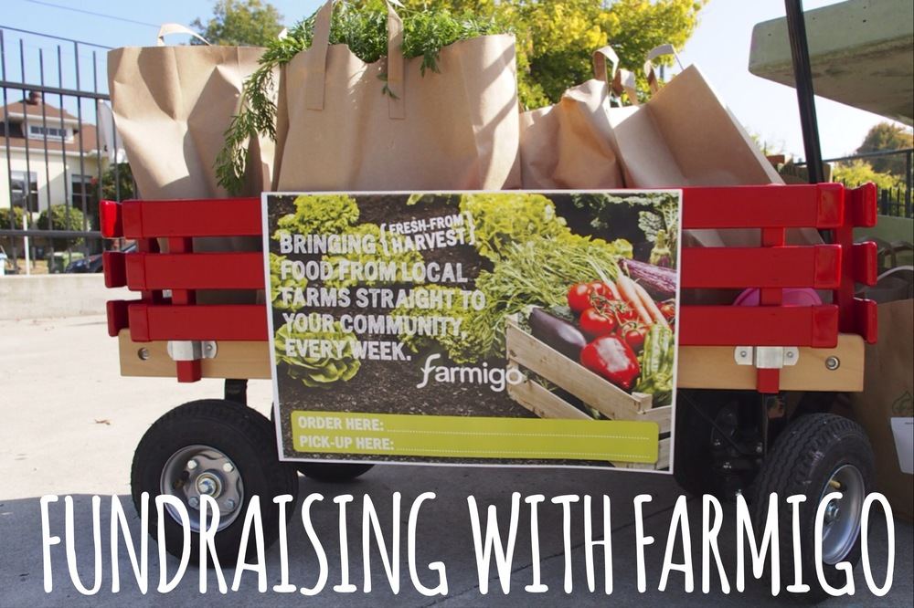 Farmigo: Fresh produce to you, fundraising for your community.