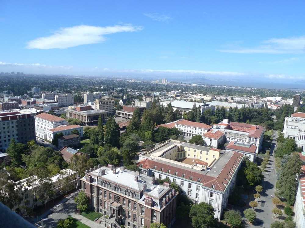The view from the top of the Campanile.