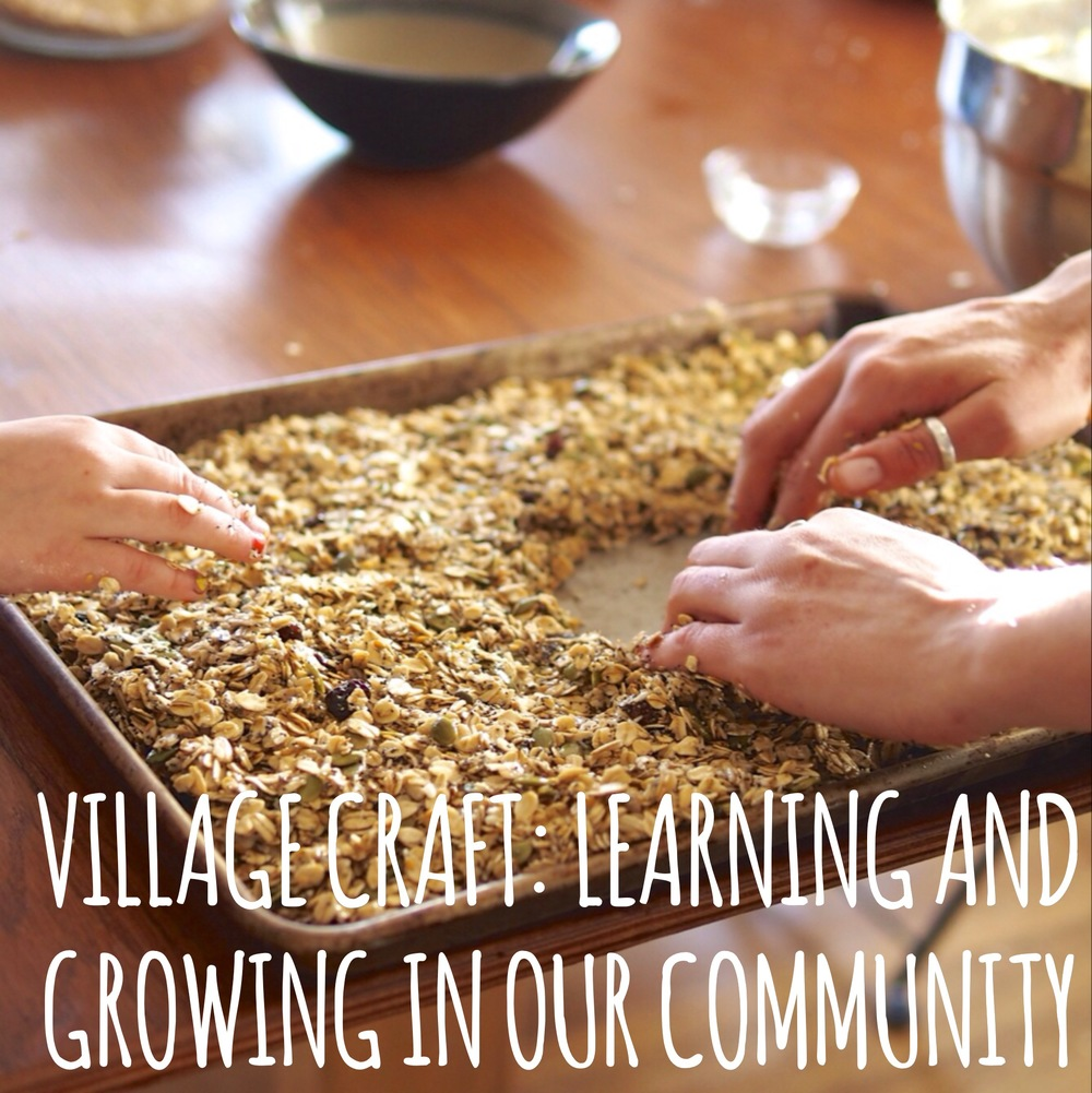 Villagecraft.org- A place for Learning and Growing in our Community.