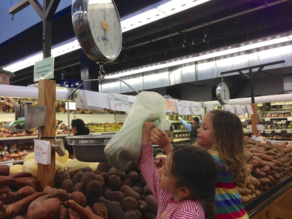 #groceryshopping with kids, make it a fun learning experience!