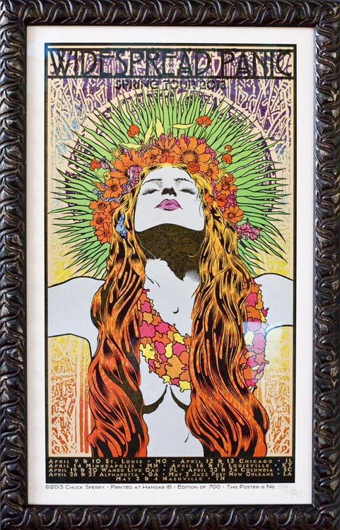 Widespread Panic Concert Poster