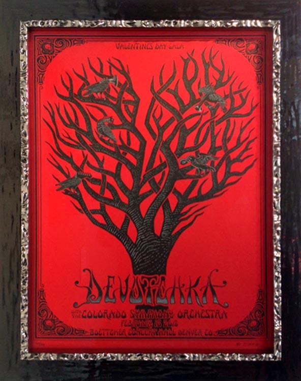 Devotchka Concert Poster