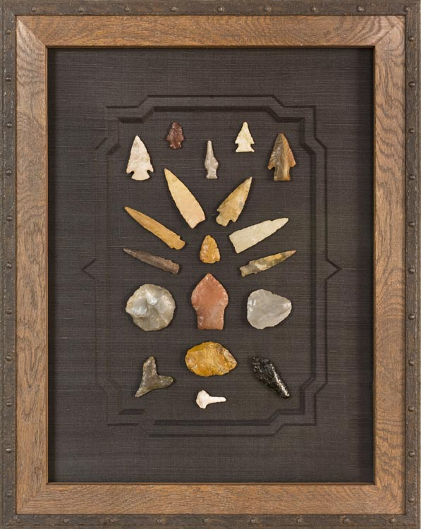 arrowheads, arrow head framing