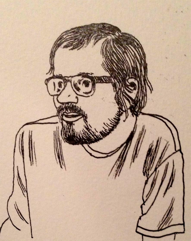 Jon Lewis by Gabrielle Bell
