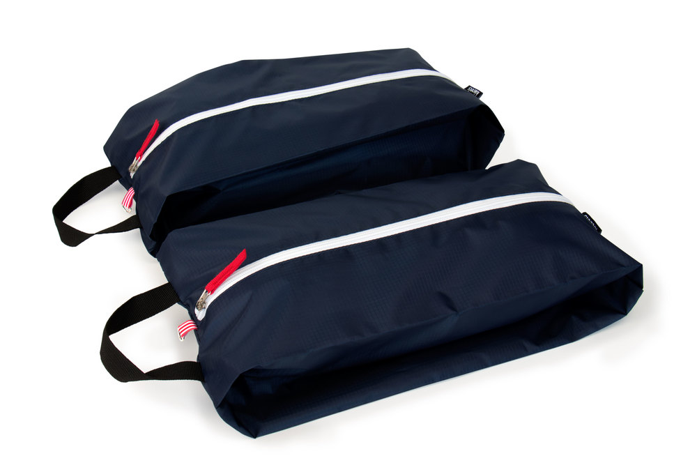 No. 305 Travel organiser bags / shoe bags - size L - midnight blue € 21,-