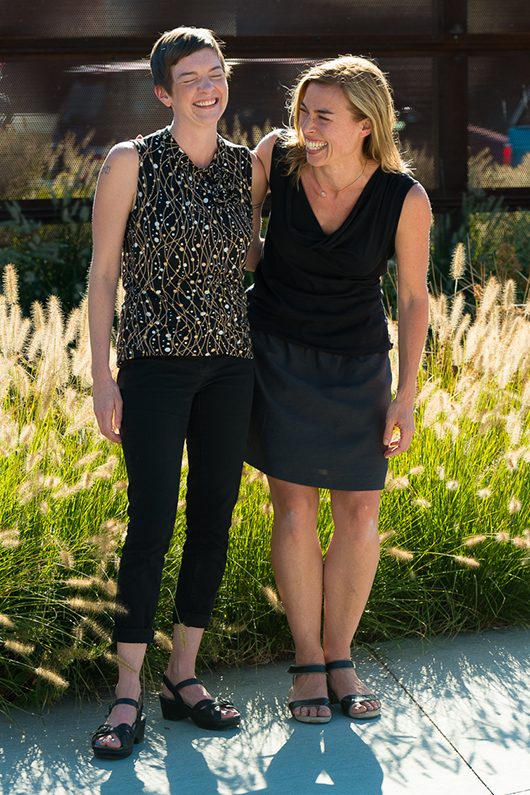 Portland Healing Space co-founders Liz Giles, DC and Danielle Lombardi, LAc